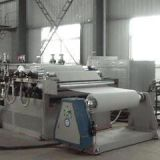 recycled pet sheet making machine with twin screw extruder