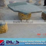 Outdoor Garden Stone Tables and Chairs