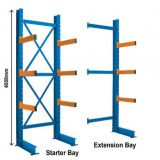 Adjustable Warehouse Steel Cantilever Racking