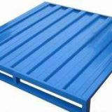 Blue Warehouse Cargo Stainless Steel Pallet Racking Single Faced