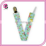 New 2016 Floral Pattern Pacifier Clip Holder