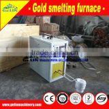 Furnace smelt gold machine