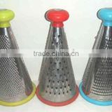 "2014 hot sale stainless steel 10"" conical kitchen grater"