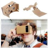 High Quliaty DIY Google Cardboard 3D VR Virtual Reality Glasses Worldwide Ship VR017