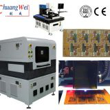 Pcb UV Laser depaneling machine System without Stress,UV Laser System for Flex Cutting,CWVC-5L