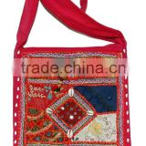 Bohemian Boho Hippie <b>Handmade</b> <b>Fabric</b> Handbag Beautifully crafted <b>Handmade</b> <b>Fabric</b> Shoulder bags discount offer wholesale price