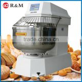 Hot Sale 15-100KG Double Motions Spiral Mixer For Bread Flour , dough mixer for food