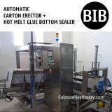 Automatic Case Forming Equipment Box Folding Machine Carton Erector