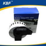 DK22210 Compatible DK label black on white continous Thermal paper DK2210 29mm*30.48m