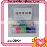 2014 hot selling rubber band loom designs for girl
