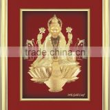 Gold Foil factory cheap price 3d indian god picture