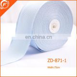 high quality nylon grosgrain ribbon for garments bags
