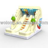 2014 Skiing inflatable slide/ Inflatable slide on show!!!