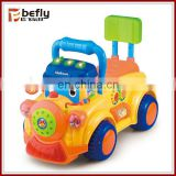 2015 hot plastic ride on toy cars for babies