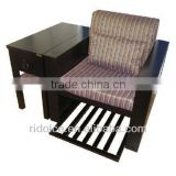 Pedicure Sofa / Salon Furniture used massage table deluxe massage chair TKN-39004(1X2)
