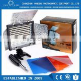 Yongnuo YN-160 LED video studio led light for photo studio with different color fiter