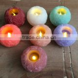 Valentine rose shaped flicking real wax candle flameless rose candle rose carved candle real wax candle real wax candle