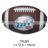 Promotional custom toy balls colorful Ameican football type kick ball