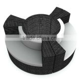 fan-shaped rattan chair with fashion style 2012