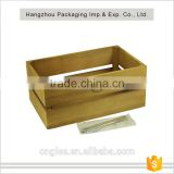 Hot Sale Large Capacity Wooden Storage Crate
