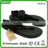Fashion Comfort Black Women's Yoga Sling Flip-Flop,yoga-mat footbed Flip flops