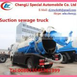 8000L sewage truck,sewage suction truck sale