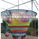 Children's amusement hoisting cage with high quality