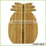Totally Bamboo Pineapple Shaped Bamboo Cutting & Serving Board/Homex_Factory