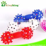 Spikey dumbbell/pet toys