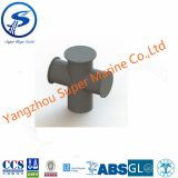 Horn Type Ship Crossing Bollard,Ship crossing bollard,GB T554-96 Type D Marine Single Cross Bitt Boat Bollard