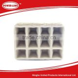 4pcs 3X4(12cells) Paper Seeder Tray ,Square Pots