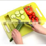 Cutting Kitchen Board With Chopping Block Draining Board Dishes To Wash Cut With The Drain Basket Creative 2 in 1 Drawer KC1110