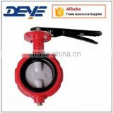 125LBS 150LBS Ductile Iron Weco Wafer Butterfly Valve                                                                         Quality Choice