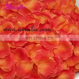 fashion silk rose petals for wedding decoration
