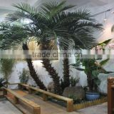 hot sale indoor/outdoor decorative tree used wholesale artificial fake palm tree