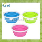 MA-382 100% Eco-Friendly Silicone Collapsible Travel Bowl