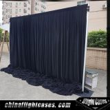 Outdoor Concert Stage Black Backdrop Panels