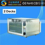Full automatic bakery equipment 2 trays electric professional flat bread making machine cheese