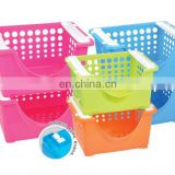 storage plastic stacking basket