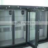 Sales best commercial used glass door freezer low power consumption refrigerator commercial refrigerator