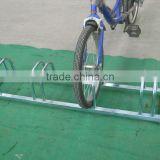 Steel bike stand for 4 bikes