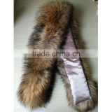 SJ190-01 Big Fur Collar for Garments/Garment Accessory Fur Collars