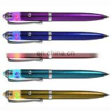 LED blinking ballpoint pen with button