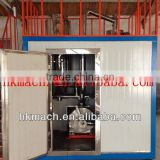 Rubber cryogenic mill