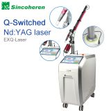 Beijing sincoheren fda ce approved Q-switch nd yag laser/laser tattoo removal speckle removal nd yag laser