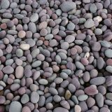 Natural Purple River Pebble Stone 3 - 5cm For Garden Decoration