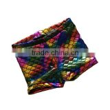 Summer Colored Fins Mermaid Kids Shorts