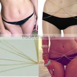 Africa Women Simple Fashion Three Layers Sexy Bikini Waist Belly Body Chain body chain jewelry