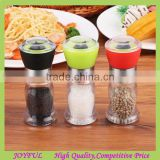 Factory supplier Mini glass salt and pepper grinder set