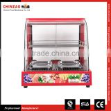 Large Size Electric Counter Top Food Display Warmer Showcase Fast Food Resturant Equipment